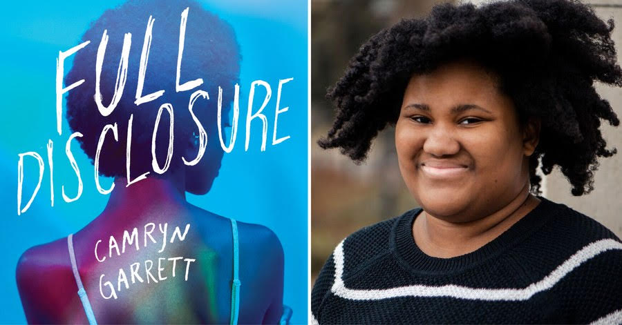 Full Disclosure cover and photo of Camryn Garrett