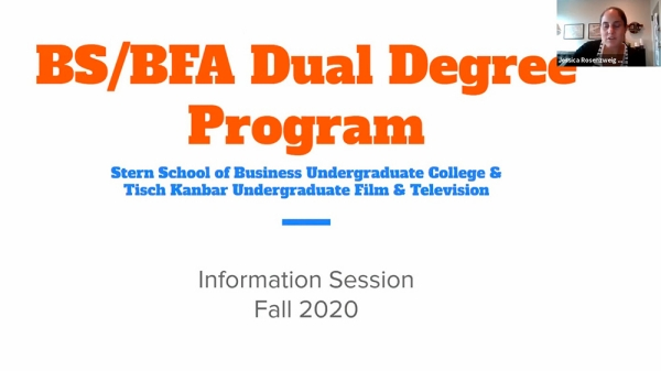 BS/BFA Dual Degree Program