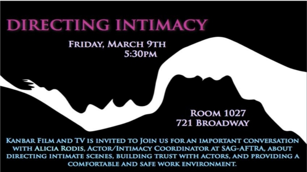 Directing Intimacy – A Conversation About Directing Intimate Scenes
