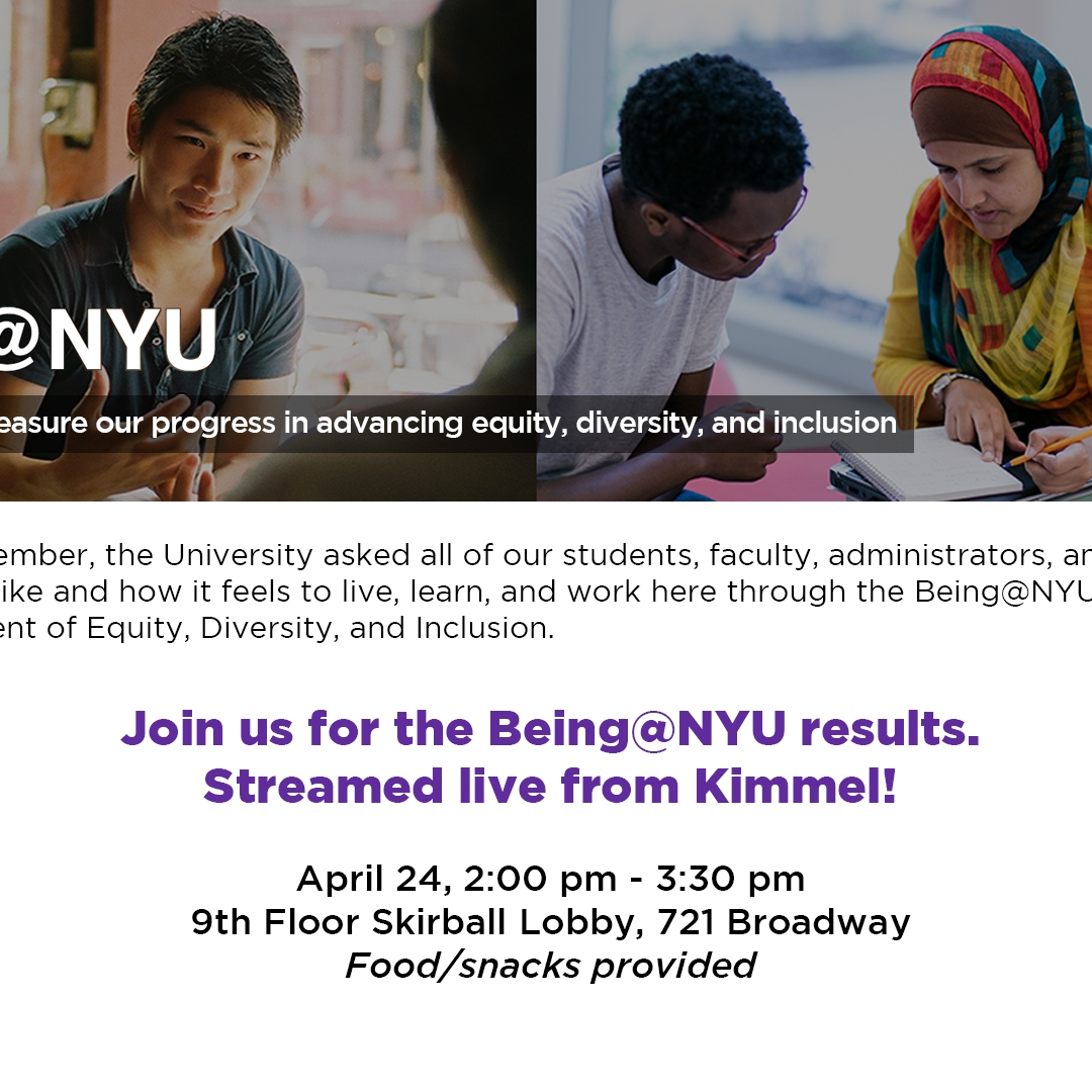 Being@NYU Event Image