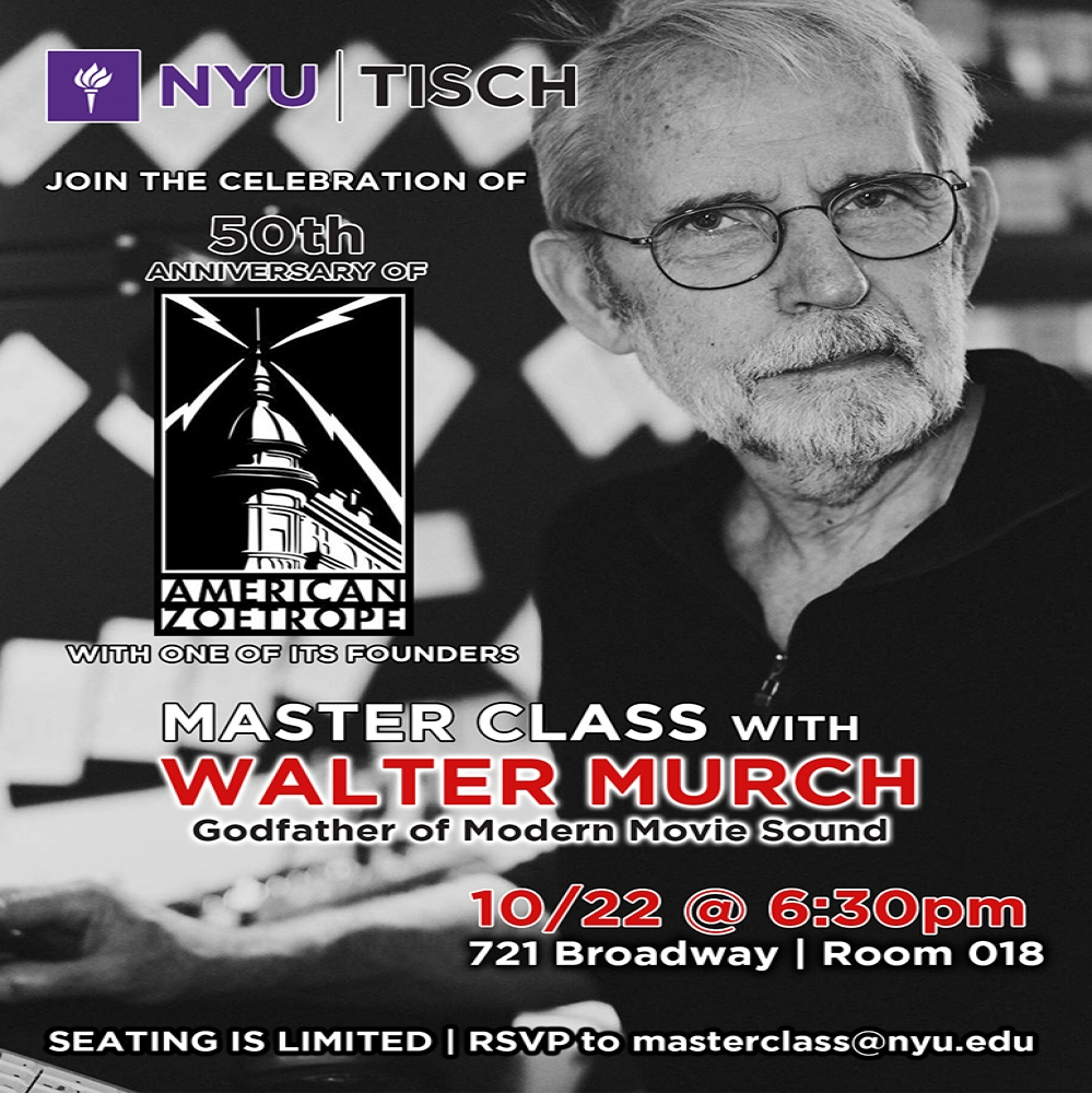 Master Class with Walter Murch