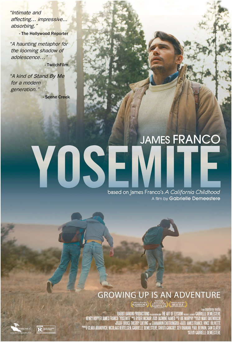 Poster for the film, Yosemite.