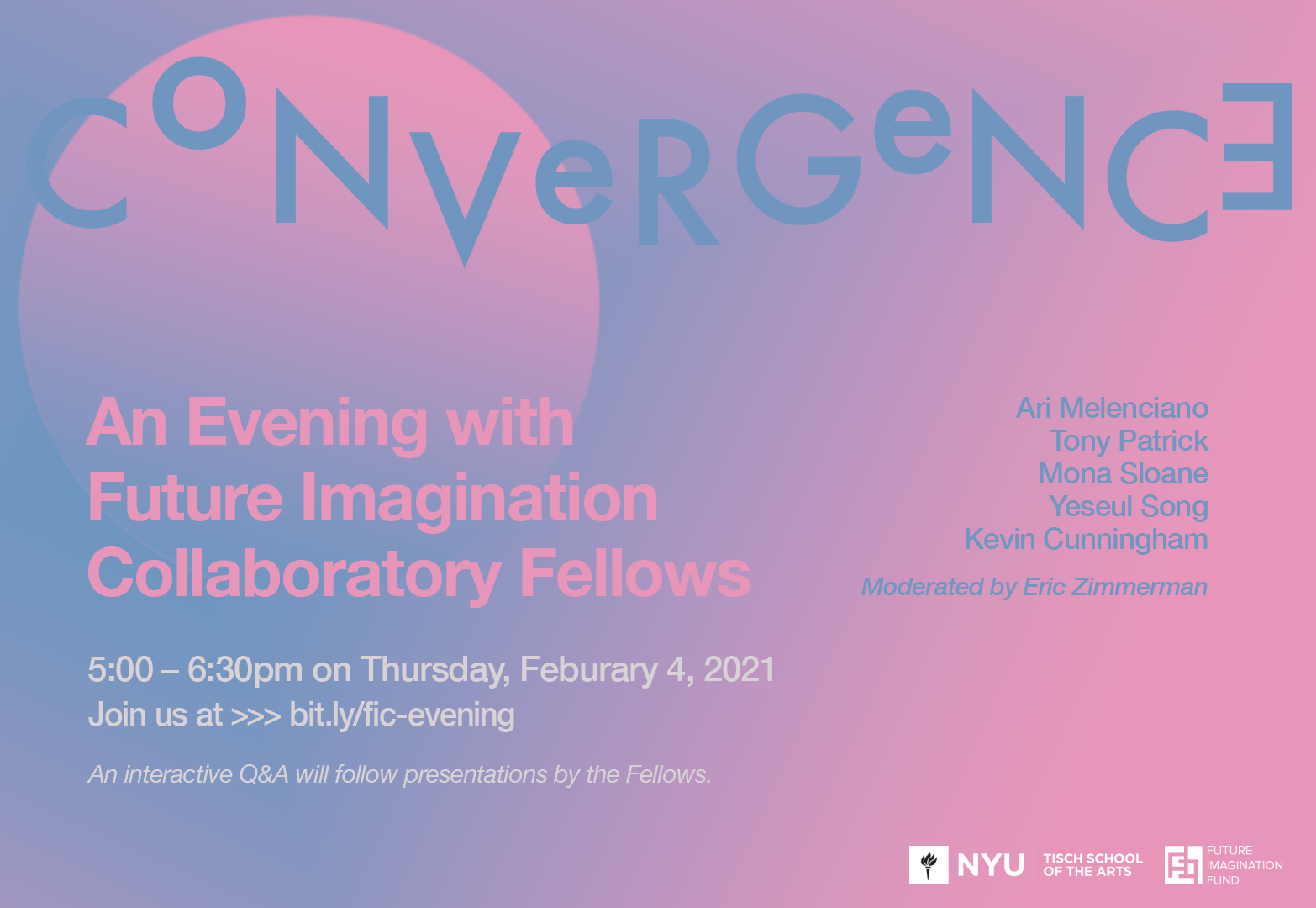 Convergence: FIC Fellow event