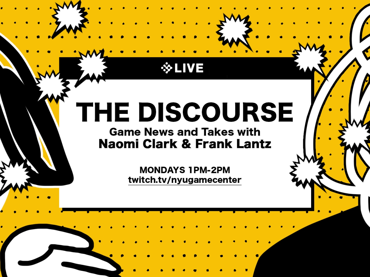 The Discourse with Naomi Clark and Frank Lantz