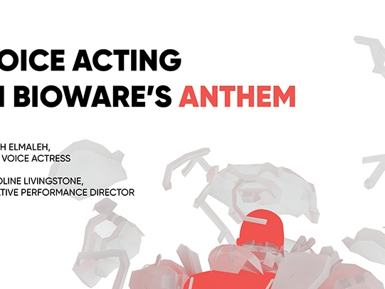 Poster for Anthem Lecture Series featuring Anthem freelancer