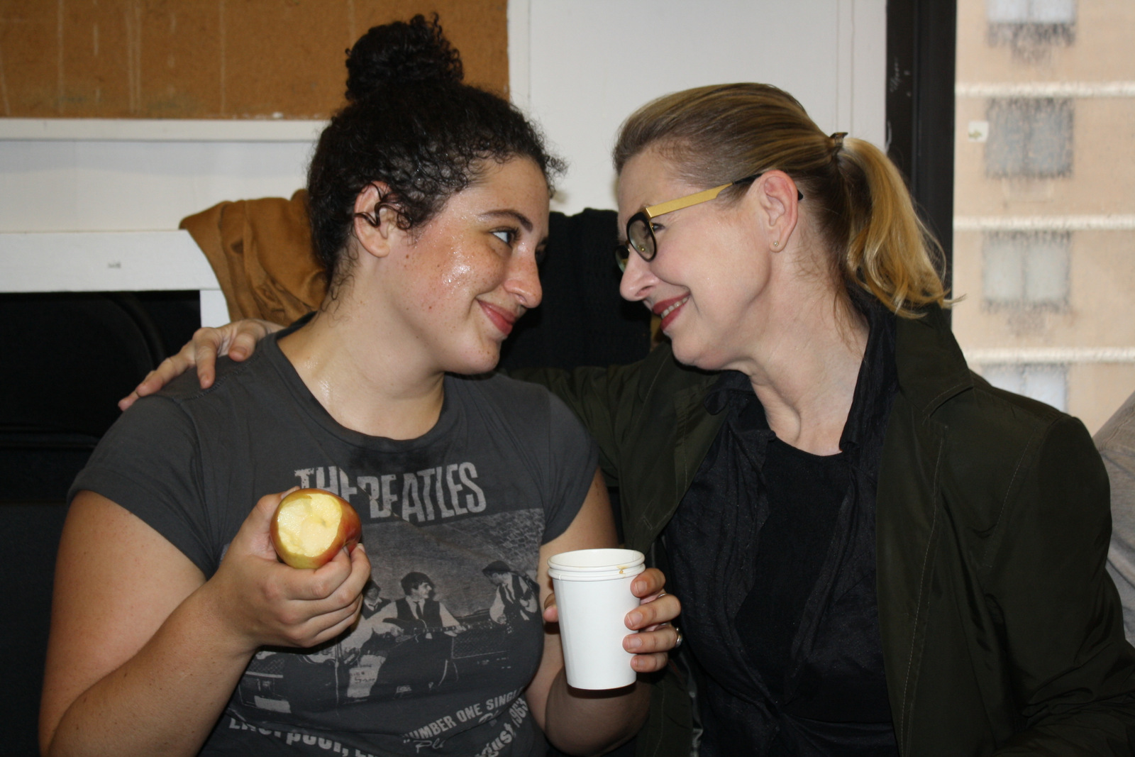 Simone Recasner (2017) & Janet Zarish (Head of Acting)