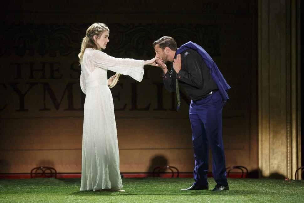 Raul Esparza in 'Cymbelline', Photo Credit: NY Daily News