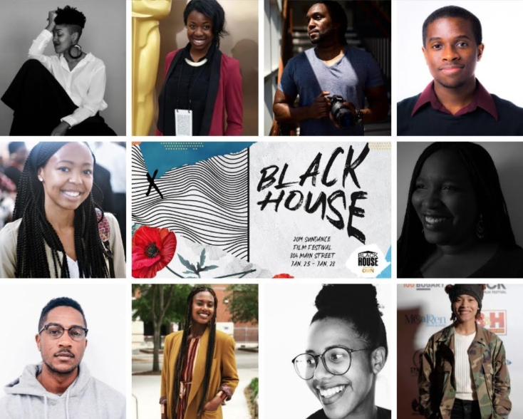 The 10 Blackhouse Fellows of 2019 courtesy of The Blackhouse Foundation's Instagram.