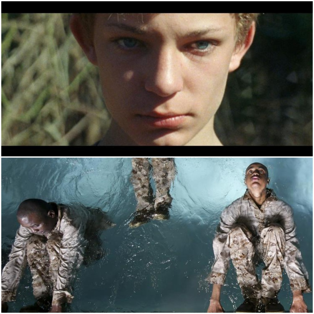 "Stills from ""Coyote Boy"" & ""The Inspection, Courtesy of Tribeca"