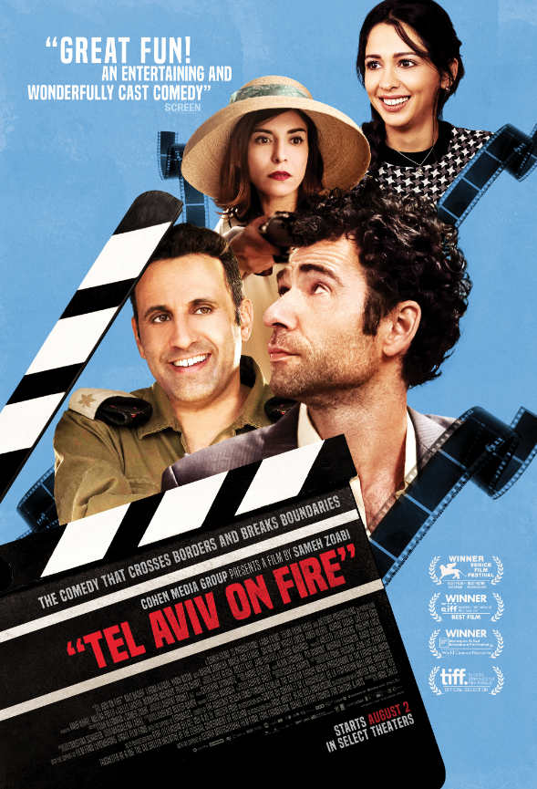 Tel Aviv On Fire, Courtesy of IndieWire