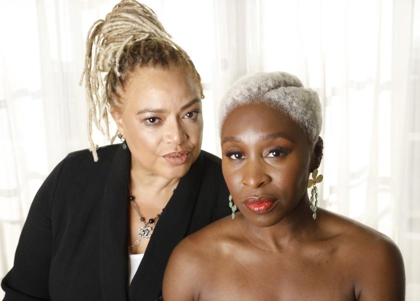Kasi Lemmons and Cynthia Erivo Photo Courtesy of LA Times