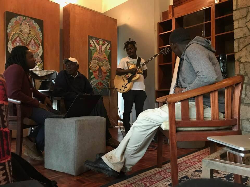 Creative artists in Nairobi, Kenya assemble at The Elephant to write and present new musicals
