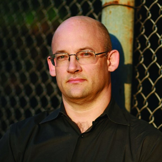 Headshot of Clay Shirky