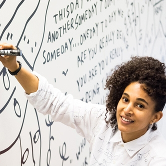 headshot of Shantell Martin