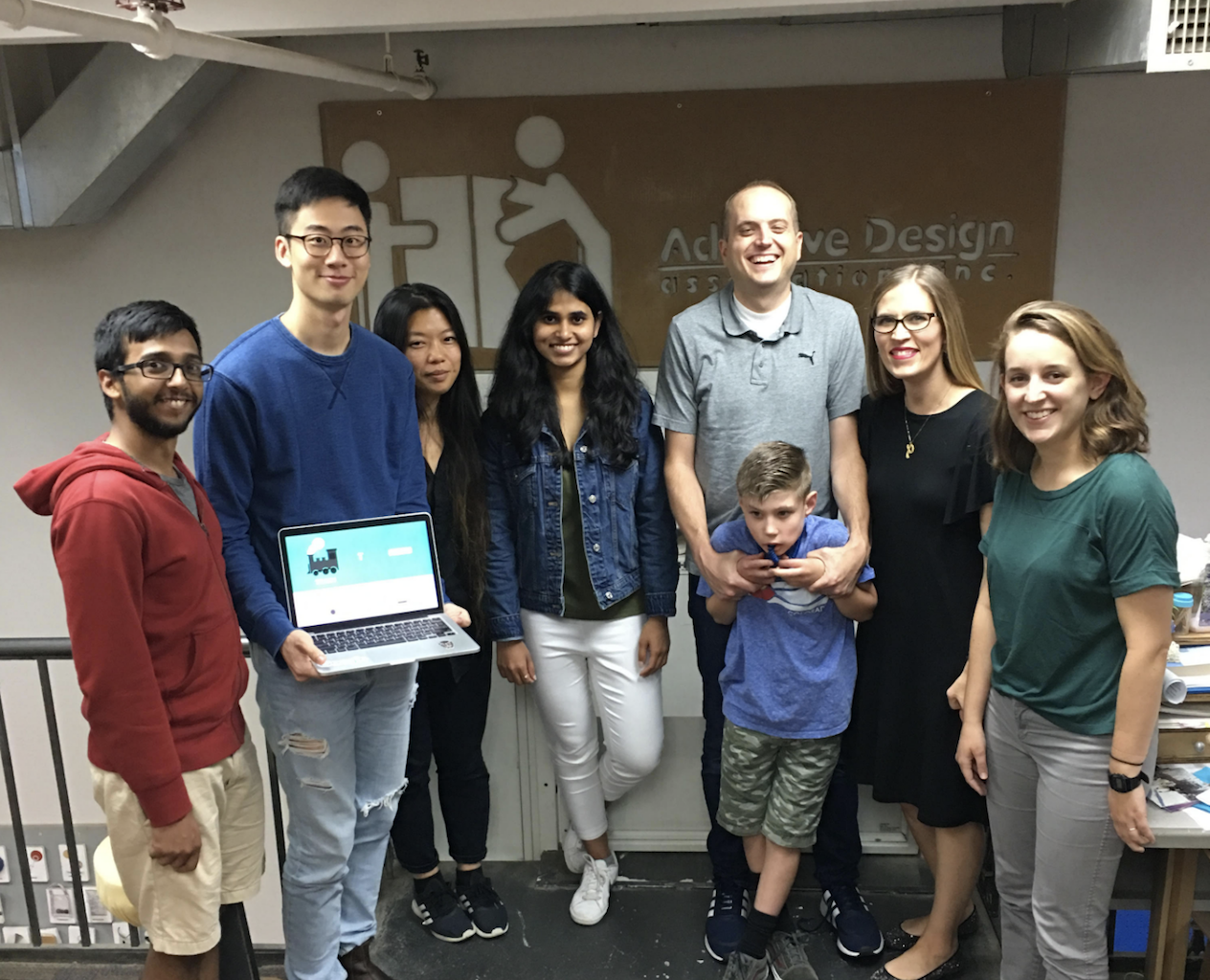ITP Students and Alumni ran the Morse Code Game Jam, a  three day event is in collaboration with Google, adafruit, and Tania and Ken Finlayson (of Tandem Master).