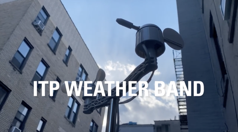 image of a weather vane in NYC