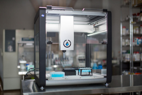 image of a 3D printer