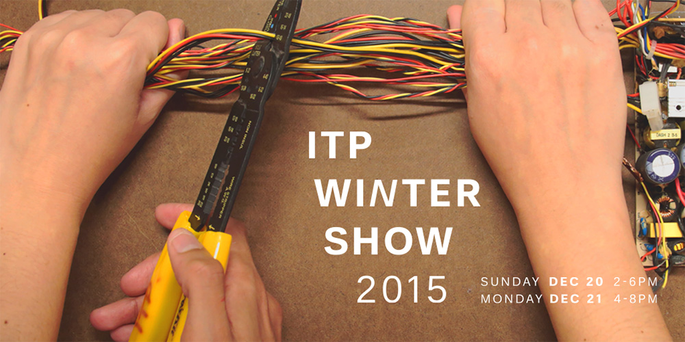 ITP Winter Show 2015 Press