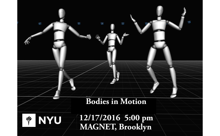 Bodies in motion final projects for Tisch undergraduate design
