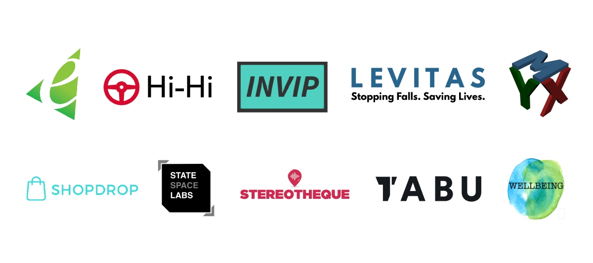 a collection of logos that are participating in Launchpad