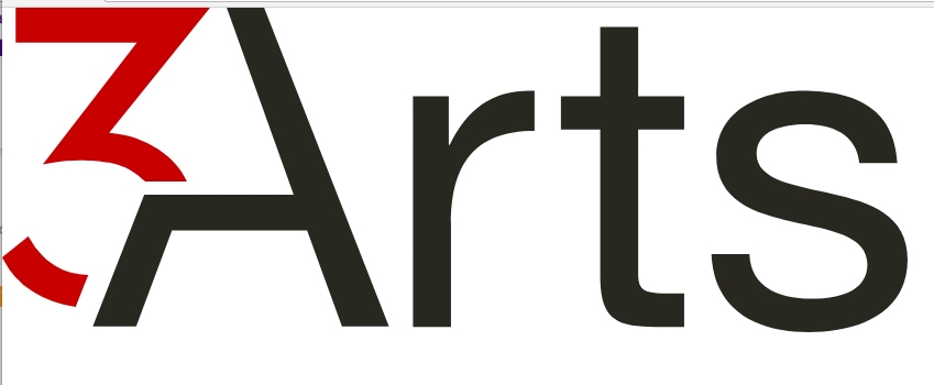 3arts text logo