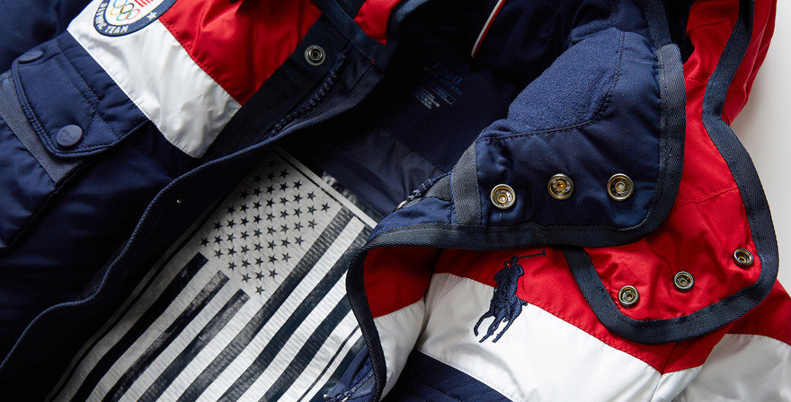 Ralph Lauren and Principled Design Team USA Winter Olympic Jackets, courtesy of Core77