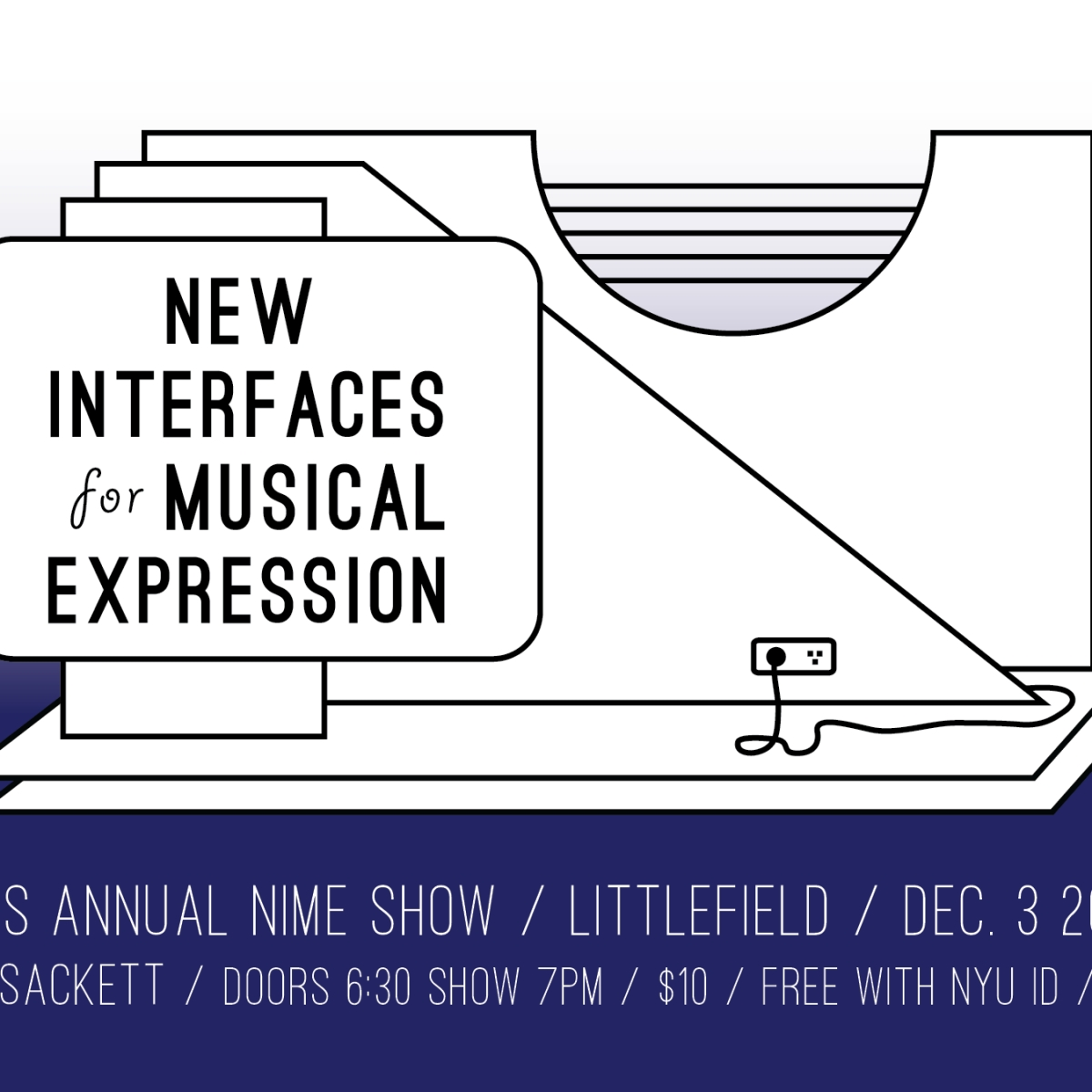 Show poster for New Interfaces for Musical Expression