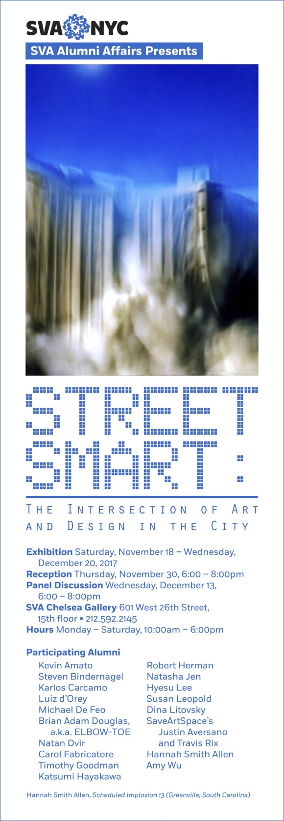 Poster for the event Street smart