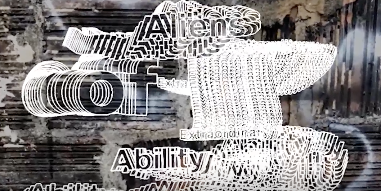Aliens of Extraordinary Ability Title Card