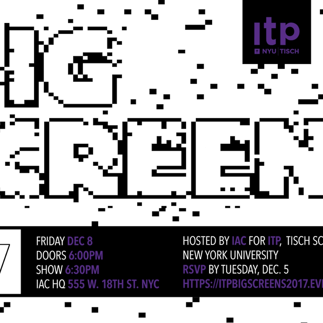 Big Screens 2017 Show Poster