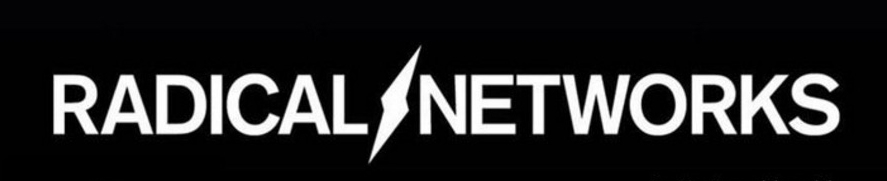 Radical Networks logo with lightning bolt