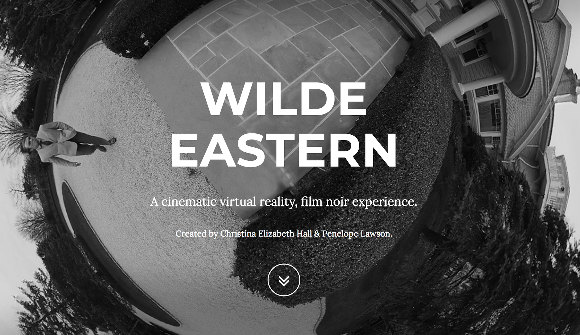 Wilde Eastern title card