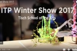 robotic arm at winter show