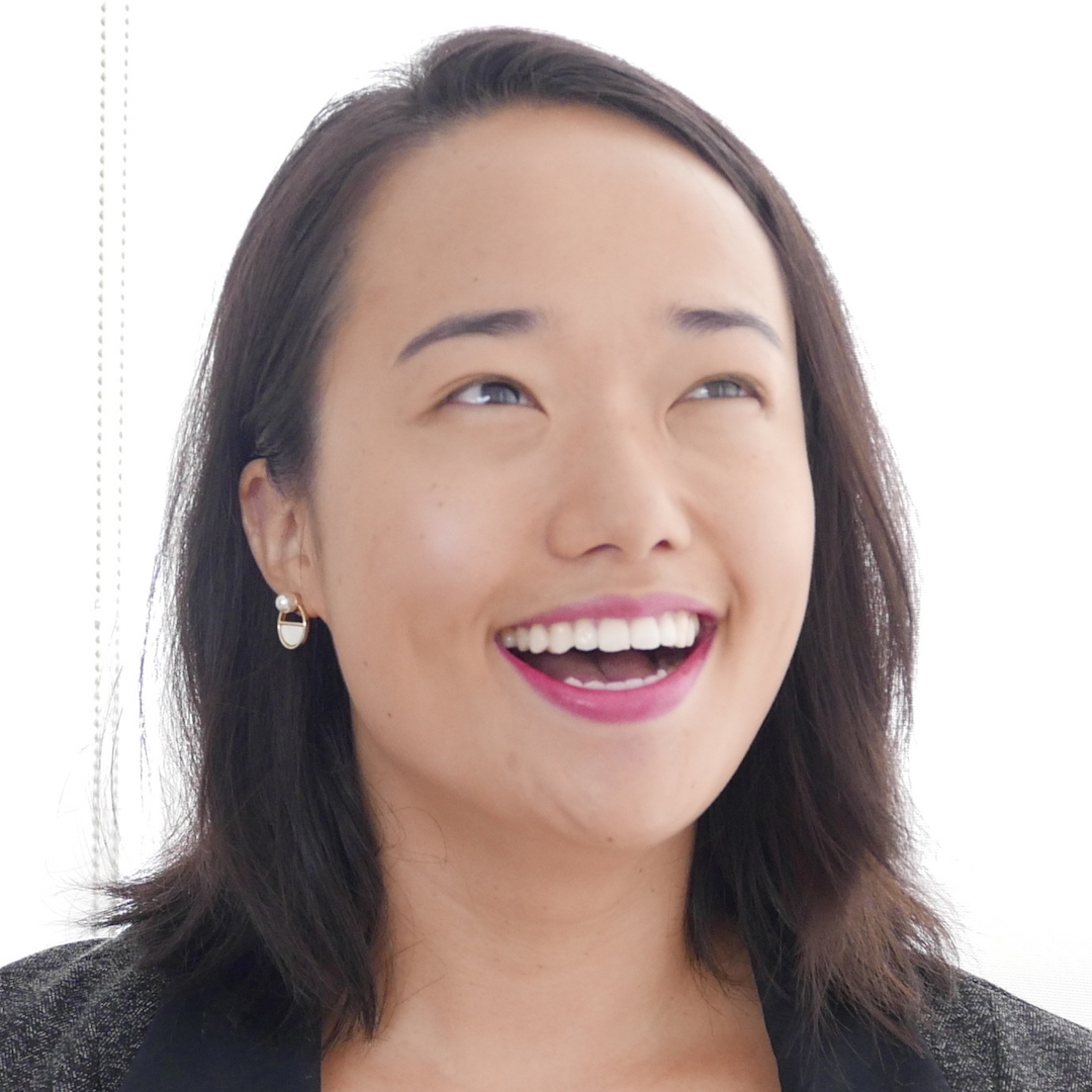 Headshot of Jenny Lim looking happy