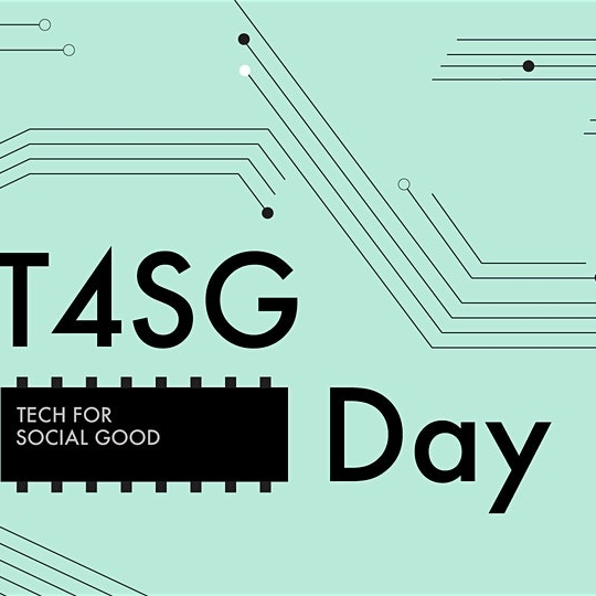 Image of logo for Tech 4 Social Good Day.