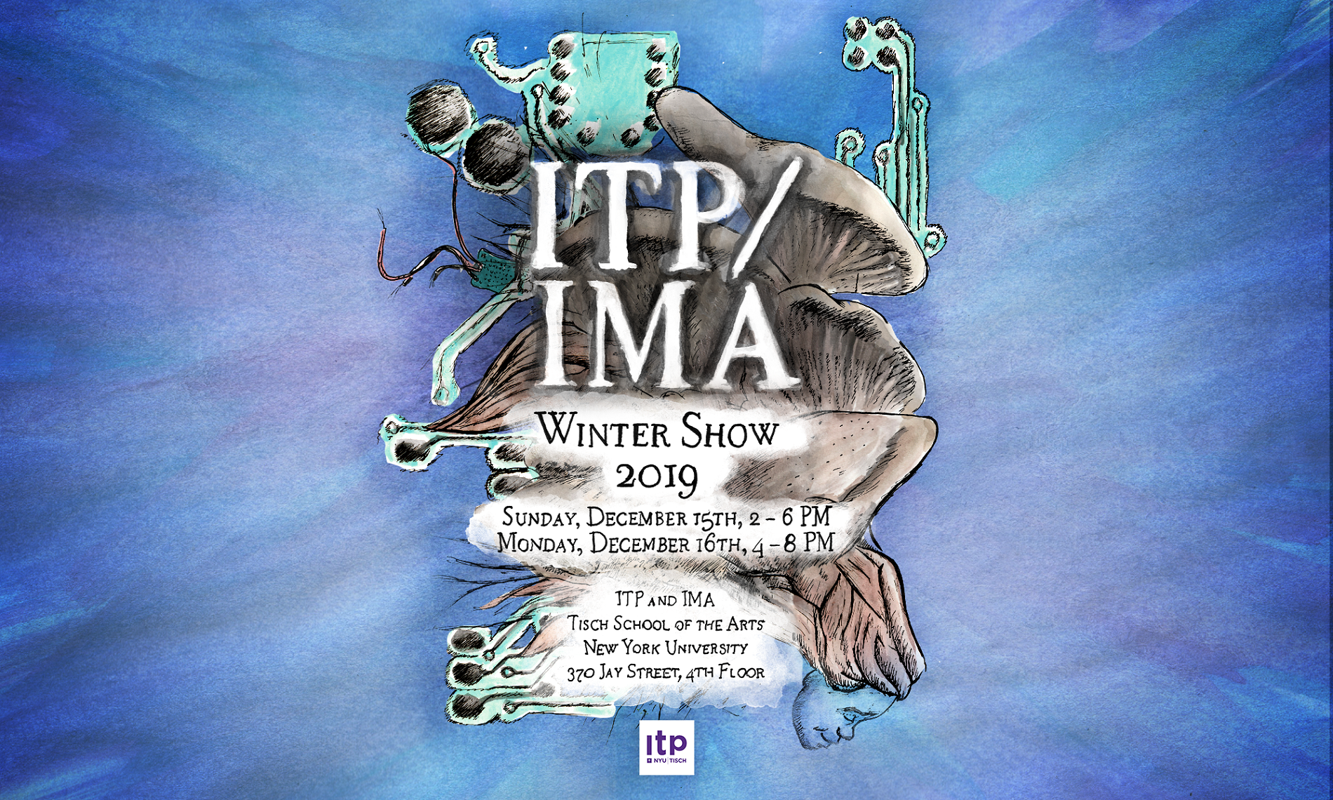 Image of ITP/IMA Winter Show 2019 Poster.