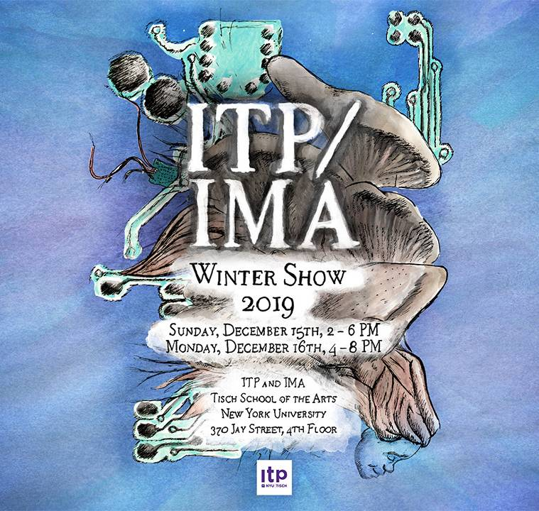 Image of poster for ITP/IMA Winter Show 2019