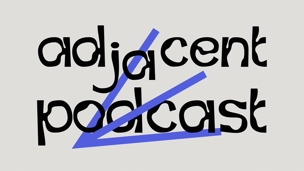 adjacent podcast logo