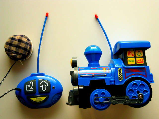 a kid's remote control toy truck