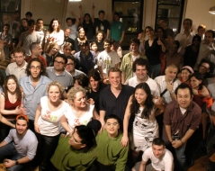 Spring 2004 panorama photo of ITP students