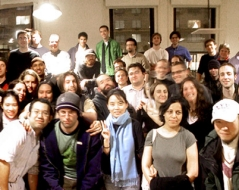 Winter 2004 panorama photo of ITP students