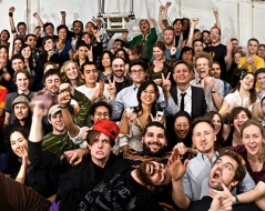 Spring 2010 panorama photo of ITP students