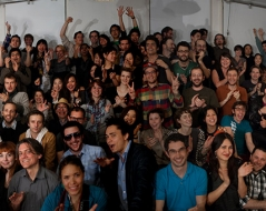 Spring 2011 panorama photo of ITP students