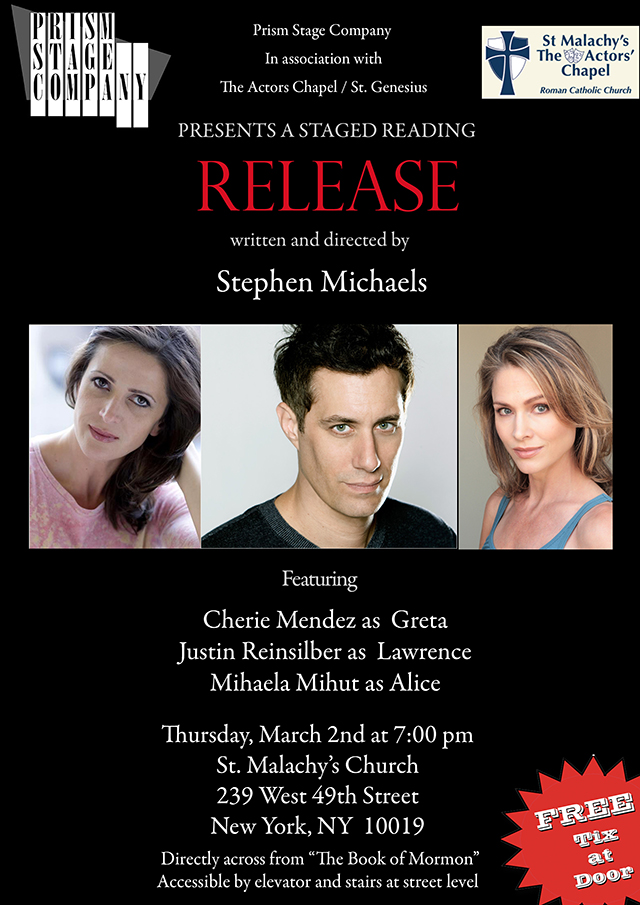 Stephen Michaels: RELEASE