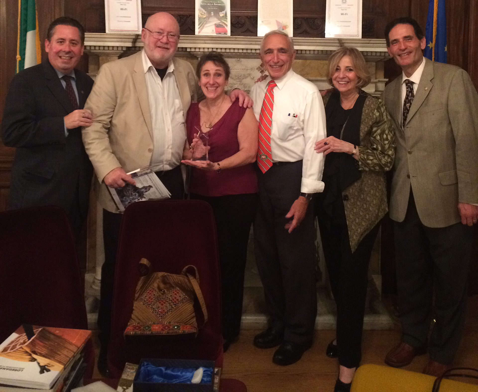 Angela Pietropinto Honored at Italian Consulate
