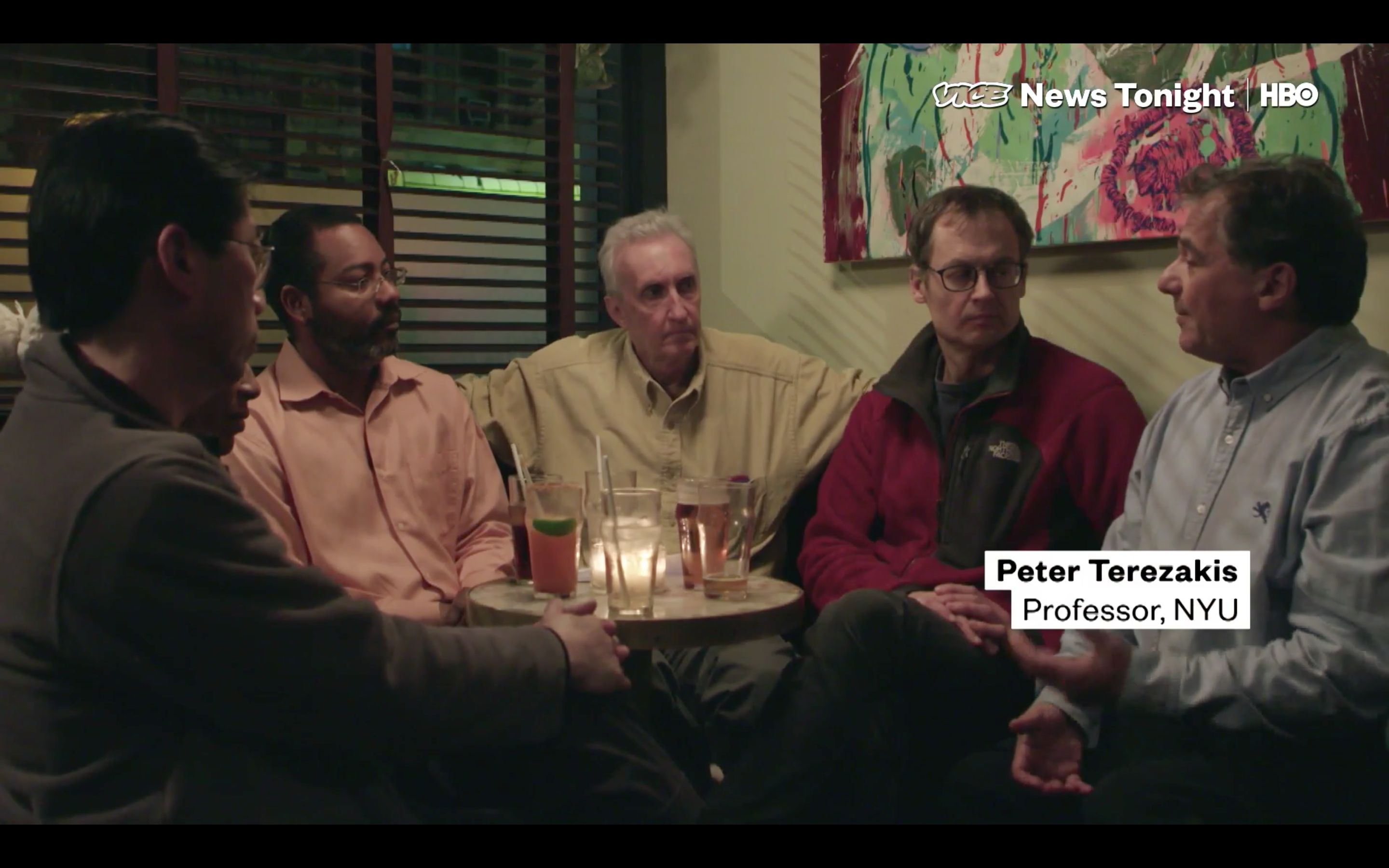 A PHoto of Prof. Peter Terezakis on Vice News