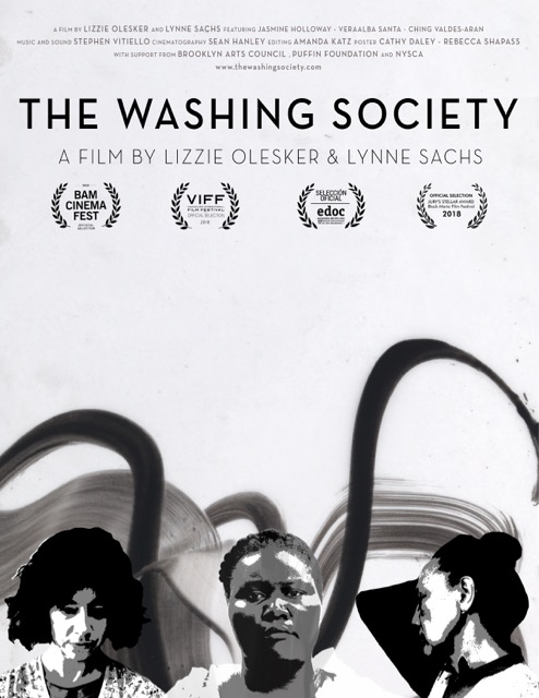 "Poster for ""The Washing Society"""