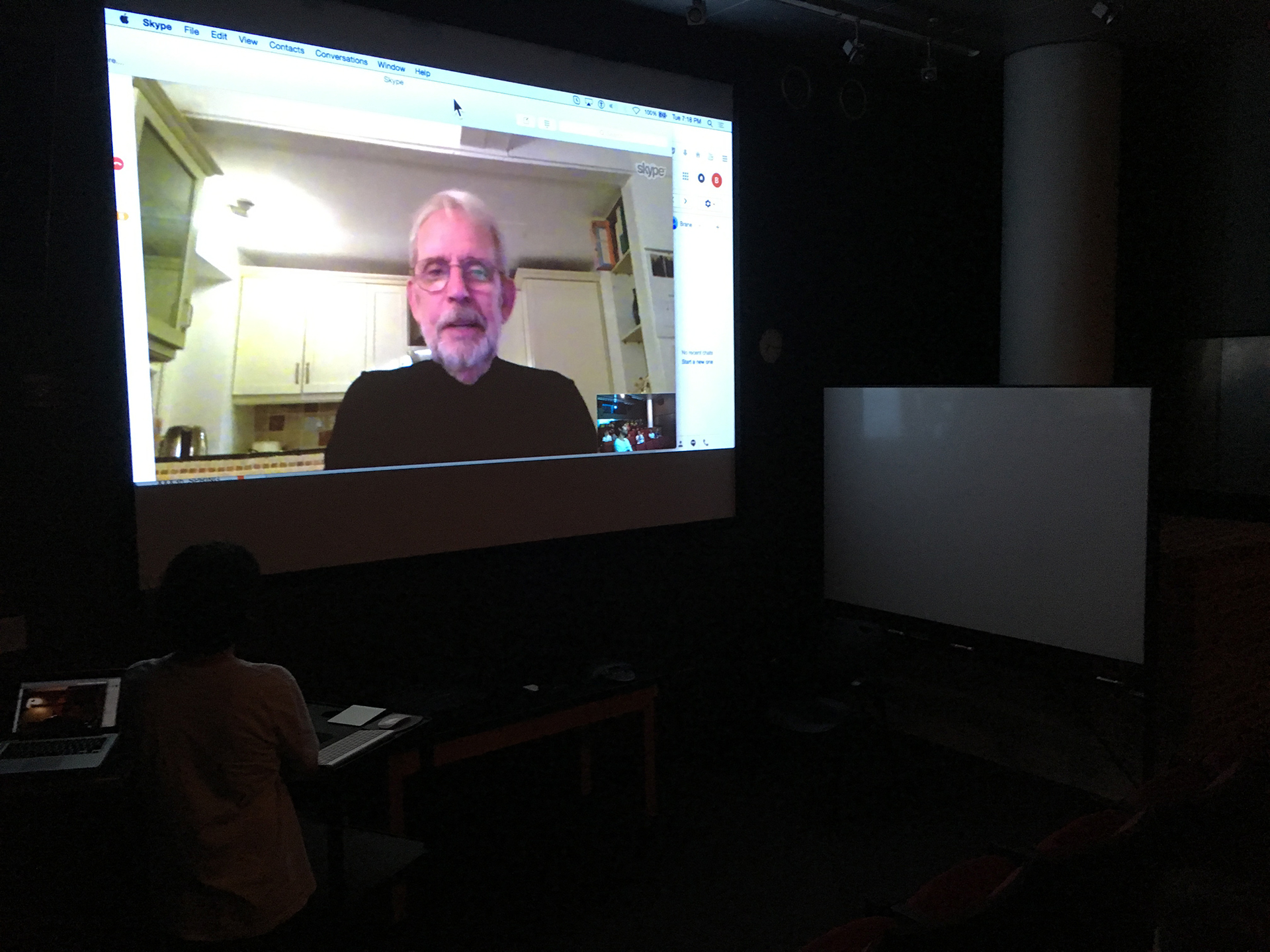 Walter Murch Discusses New Film COUP 53 with Open Arts Students