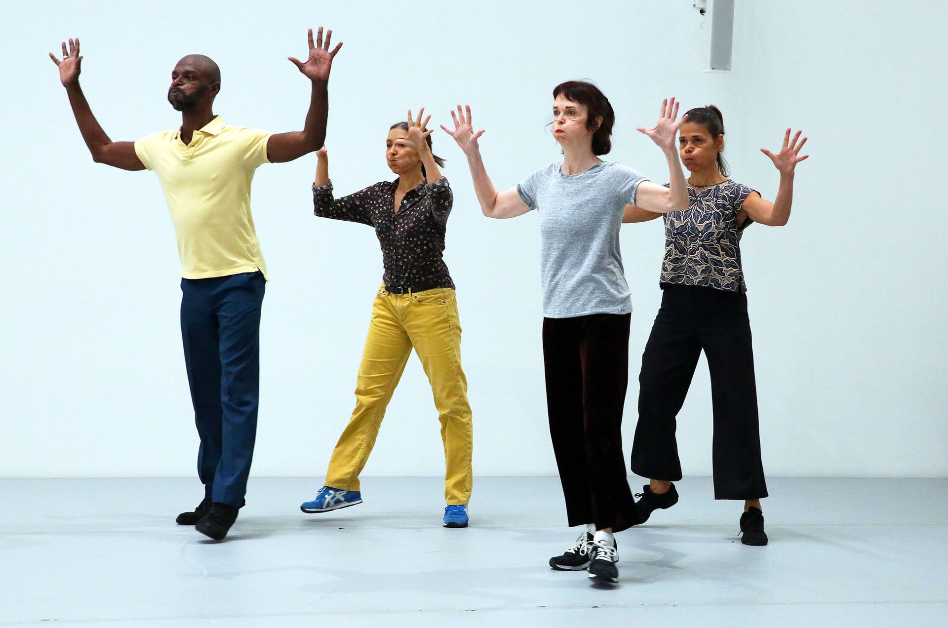 From Left David Thomson Emanuele Phuon Pat Catterson And Patricia Hoffbauer In Yvonne