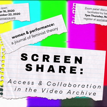 Screen Share: Access & Collaboration in the Video Archive